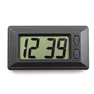 ETbotu Veicolo Auto Ornamento Automotive Clock Automobiles Arredamento da incollare Orologio Auto Ornamenti Accessori