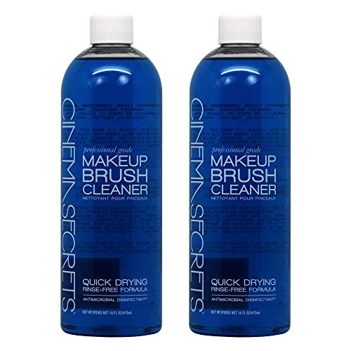 - Cinema Secrets 2 New BRUSH CLEANER 16oz Vanilla Scented 2 PACK