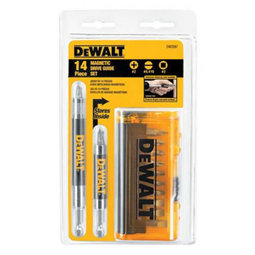 DEWALT DW2097CS 14-Piece Drive Guide Bit Set