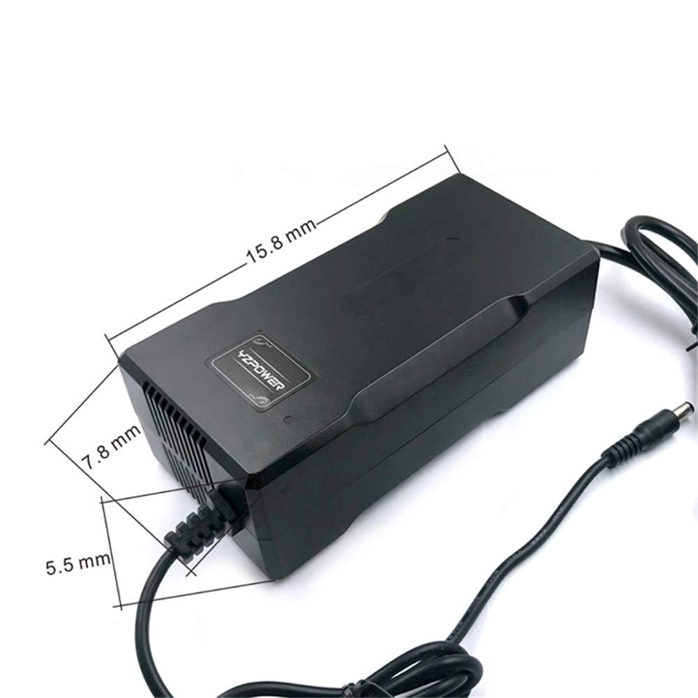 YZPOWER 29.4V 5A Cargador de batería de Litio para 7S 24V Batería de Iones de Litio Herramienta eléctrica con Enchufe XLR