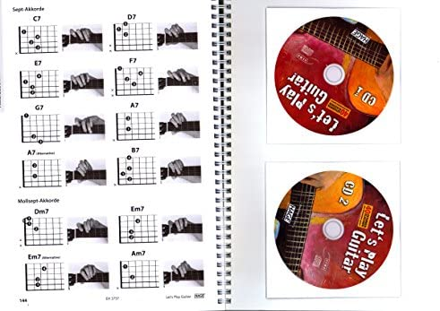 Let s Play Guitar banda 1 con 2 CD, DVD y Dunlop Púa - Songbook y ...