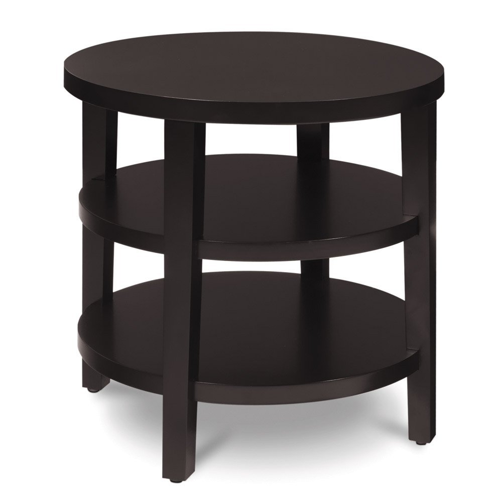 Amazon com  AVE SIX Merge Round End Table  20 Inch  Espresso  Kitchen    Dining. Amazon com  AVE SIX Merge Round End Table  20 Inch  Espresso