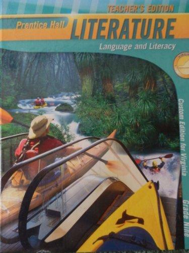 Prentice Hall Literature Virginia Edition Grade Nine 9 (Language and Literacy)