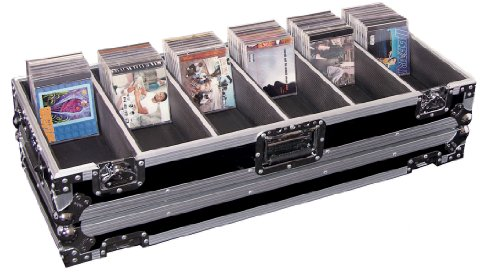 Odyssey FZCD480 Flight Zone Ata Cd Case: Holds 160 Cd Jewel Cases Or 480 Cd View Packs