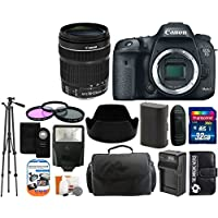 Canon EOS 7D Mark II 20.2MP CMOS Digital SLR Camera Body with 18-135mm IS STM Lens + 32GB Card + Case + Tripod + Spare Battery and Charger + Flash + Lens Hood + Digital Camera Accessory Bundle Noticeable Review Image