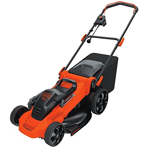BLACK + DECKER MM2000 13-Ampere Corded Mower, 20-Inch