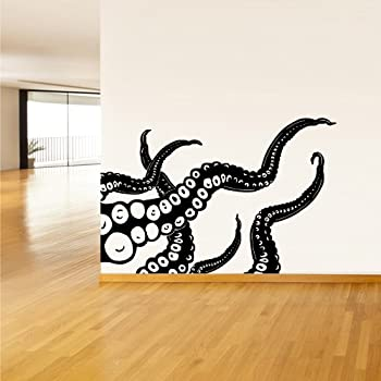 Wall Decal Vinyl Sticker Decals Octopus Sprut Poulpe Delfish tentacles z1408 & Amazon.com: Wall Decal Vinyl Sticker Decals Octopus Sprut Poulpe ...