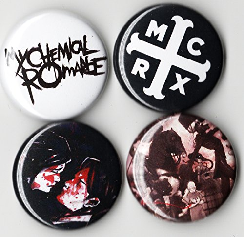 (MY CHEMICAL ROMANCE BUTTON PACK (SET OF 4) 1