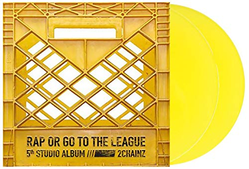 Rap Or Go To The League - Exclusive Limited Edition Yellow 2xLP Vinyl (#/2000) (2 Chainz Pretty Girls Like Trap Music)