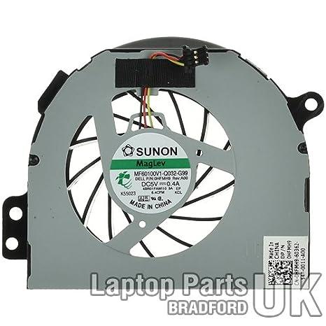 DELL Inspiron 14R N4110 serie Auténtico Ordenador portátil CPU Ventilador: Amazon.es: Electrónica