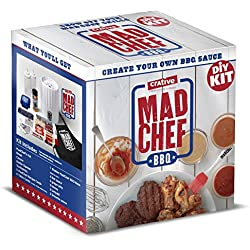 Create Your Own BBQ Sauce   Mad Chef Barbecue Sauce DIY Kit   Makes 14 Cups