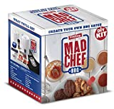 Mad Chef BBQ Sauce DIY Kit - THIS BONUS BOX INCLUDES 2 BOTTLES AND AN APRON- Makes Up To 14 Legendary Cups of an Unlimited Variety of Your Very Own Secret BBQ Sauce - Create Your Own Gourmet BBQ Sauce
