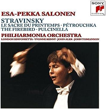 ストラヴィンスキー:春の祭典、ペトルーシュカ、火の鳥&プルチネルラ
