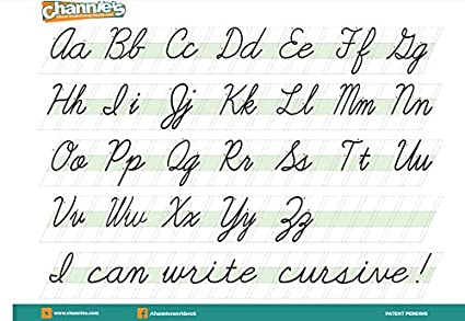 Amazon.com : Channie's Quick & Neat handwriting Cursive workbook ...