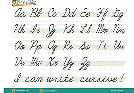 Amazon.com : Channie's Quick & Neat handwriting Cursive workbook ...