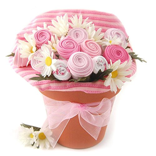 Nikki's Baby Blossom Clothing Gift Bouquet