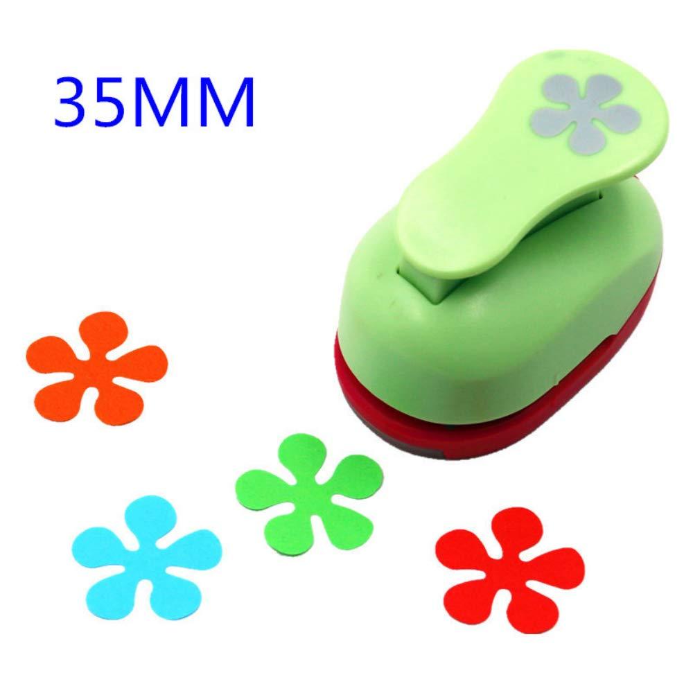 fai da te 1.5cm Perforatrice a forma di fiore da 1,5 a 7,3 cm per carta scrapbooking