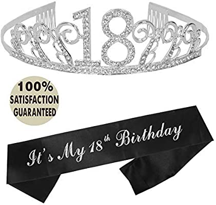 18th Birthday Tiara And Sash