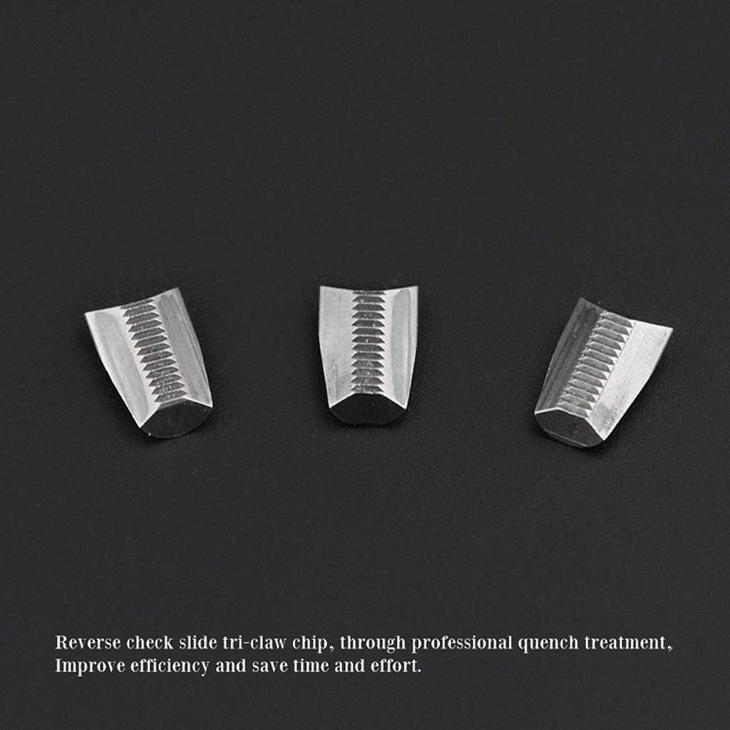 BIlinli 3 Piezas Garras Especiales para Pistola neum/ática de Remache hidr/áulica Remachadora Herramienta de remachado de Tuerca de Clavo Herramienta de reemplazo Resistente de Alta Resistencia