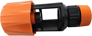 ROSEBEAR Plastic Faucet Adapter, Universal Tap to Garden Hose Pipe Connector Mixer Kitchen Sink Faucet Drain Indoor Outdoor