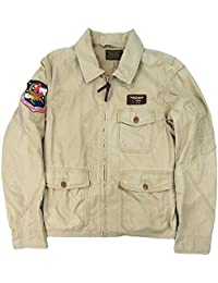 Polo Ralph Lauren Men\u0027s Cotton Flight Jacket