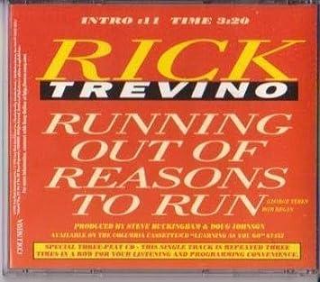 Rick Trevino - Running Out of Reasons to Run (Three-Peat CD