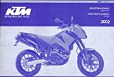 320852 2002 KTM 640 Duke II Chassis Spare Parts Manual