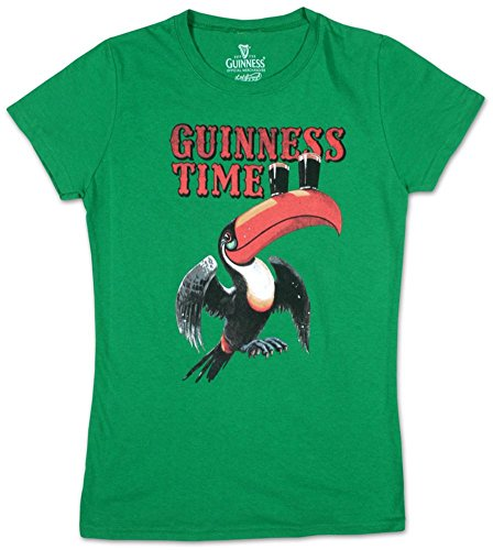 Juniors: Guinness - About Time Juniors (Slim) T-Shirt Size M