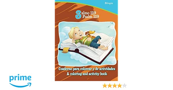 Salmo 119, Psalm 119 - Bilingual Coloring and Activity Book ...