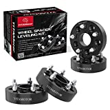 """Wheel Spacers 5x5 for Jeep, YITAMOTOR Forged Hubcentric 1.5"""" Wheel Adapters, SGS Approved, Compatible for Jeep 2007-2017 Wrangler JK JKU, 1999-2010 Grand Cherokee WJ WK, 2005-2010 Commander XK"""
