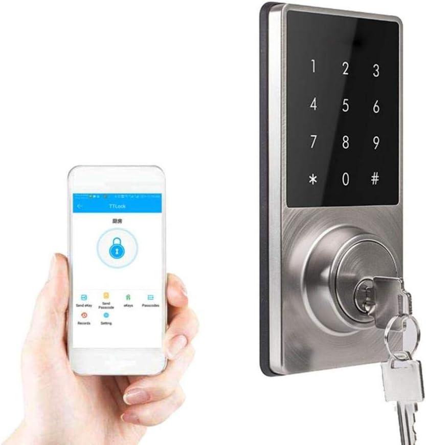 Smart Door Lock Touchscreen Anti-Theft Phone APP Control Smart Touch Pad Code Lock
