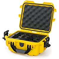 Nanuk 905 Waterproof Hard Drone Case with Custom Foam Insert for DJI Spark – Yellow
