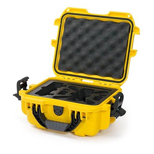 Nanuk 905 Waterproof Hard Drone Case with Custom Foam Insert for DJI Spark  Yellow