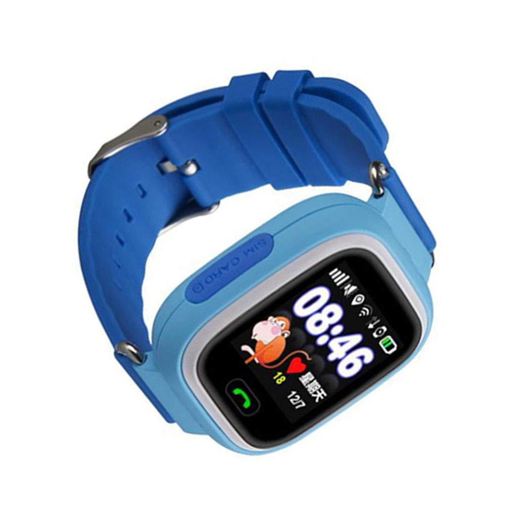 Gonee lost-Q90 Anti GPS Smart Kid Reloj de Pulsera de bebé SOS ...