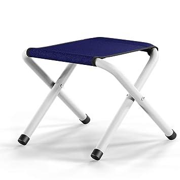 Amazon.com: PeiQiH Taburete portátil plegable, para uso en ...