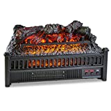Comfort Glow Electric Log Set with Heater For Sale