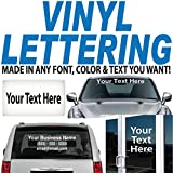 """1"""" High by Up to 16"""" Long / Custom Vinyl Lettering / Sold Per Line / for Vehicles, Boats, Signs, Doors, Windows & Much More. / Custom Made by 1060 Graphics"""