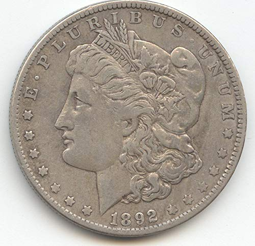 1892 Morgan Dollar Choice Very - Morgan Coin Very Nice Dollar