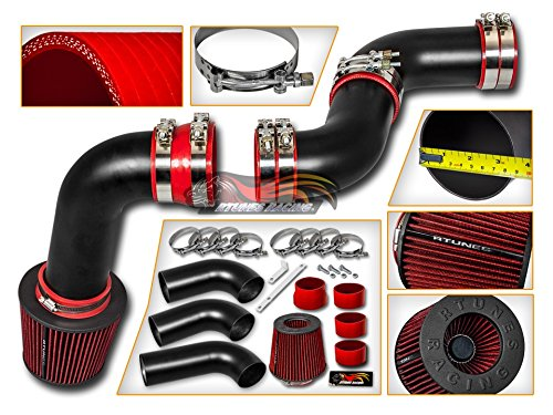 Velocity Concepts for Chevy Silverado 1500 GMC Sierra Classic 1500 4.3 V6 Matte Black Cold Air Intake System + Filter ()