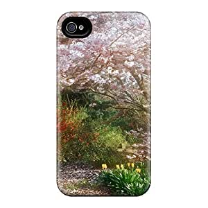 Awesome Wgm33277lwcq Casecover88 Defender Hard Cases Covers For Iphone 6plus- Beautiful Blooming Cherries