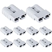 ATEM POWER AND50A*10-M ATEM POWER 10Pcs Anderson Style Plug Connectors 50 AMP 12-24V 6AWG DC Power Tool