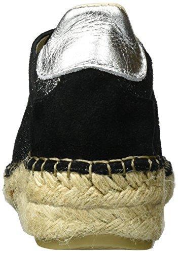 Espadrille 100 Espadrillas Candies Laces Love black Donna I Nero 8Ofxtt