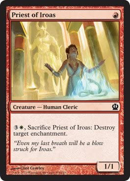 Priest of Iroas foil MTG THEROS
