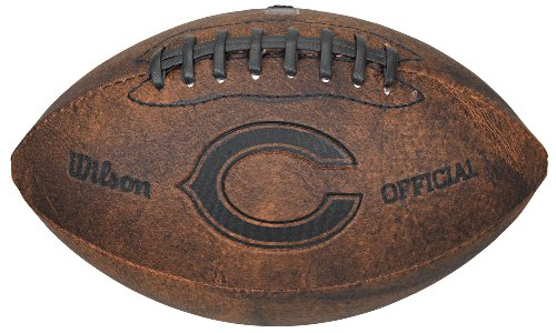 NFL Chicago Bears Wilson 9-Inch Throwback Football