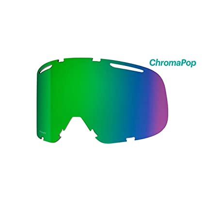 d2b9a45988 Smith Optics Riot Adult Replacement Lense Snow Goggles Accessories -  Chromapop Everyday Green Mirror One