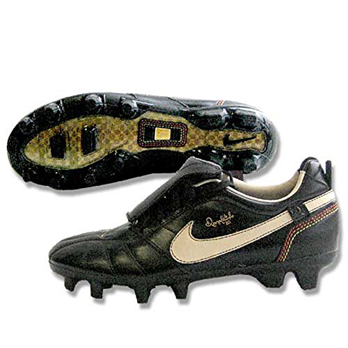 - Nike Youth Tiempo Ronaldinho FG (Black) (4)