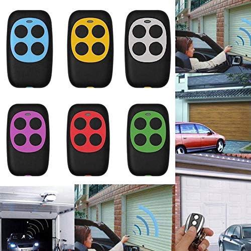 Mando a Distancia para Puerta de Garaje de 270 MHz a 434 MHz con luz indicadora LED Azul Calistouk
