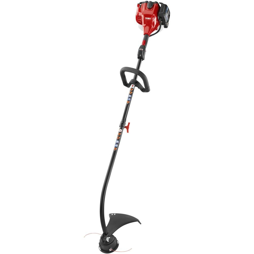 "Amazon.com : Toro (17"") 25.4cc 2-Cycle Curved Shaft Line Trimmer - 51958 : String  Trimmer Accessories : Garden & Outdoor"
