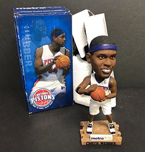 2006 Chris Webber Detroit Pistons Limited Edition NBA Basketball Bobblehead SGA -