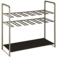 Organize It All 19749W-1 shoe rack Silver/Brown